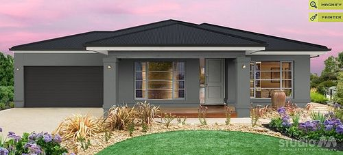 Roof Ironstone House Render Cool Grey Teahouse Western Myall Gutters Colorbond Monument