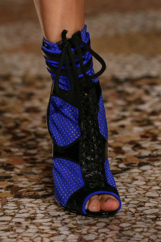emilio pucci | ss2014 | neoprene mesh booties