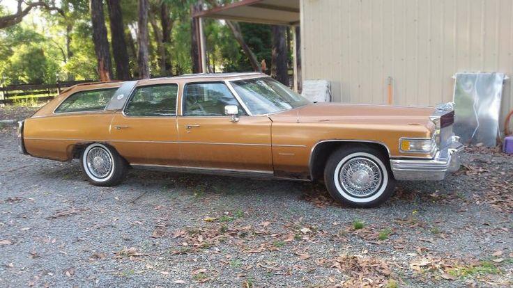 1976 Cadillac Fleetwood Brougham Castillian Wagon - http://barnfinds.com/1976-cadillac-fleetwood-brougham-castillian-wagon/