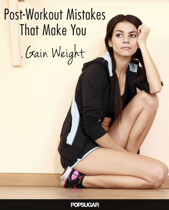 These Post-Workout Mistakes Are the Reason You're Not Seeing Results - Feeling like you hit the gym pretty regularly but aren't seeing results? One of these post-workout habits may be sabotaging your weight-loss results.