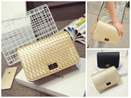 YB43 GOLD IDR189,000 MATERIAL PU LEATHER SIZE LENGTH 24 HEIGHT 15 DEPTH 8 STRAP 110 WEIGHT 550GR  #tasimport #tas #import #yesnia #bags