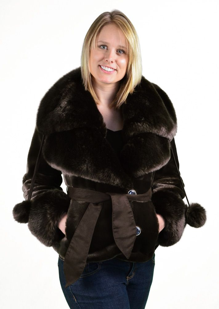 8 best Silk and Sable Faux Fur Coats images on Pinterest | Faux ...