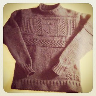 This chart is just for the main design across the chest, and is not a complete sweater pattern.