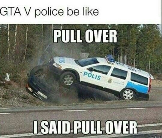 Grand Theft Auto 5 | GTA V police be lile | Gta | Police humor