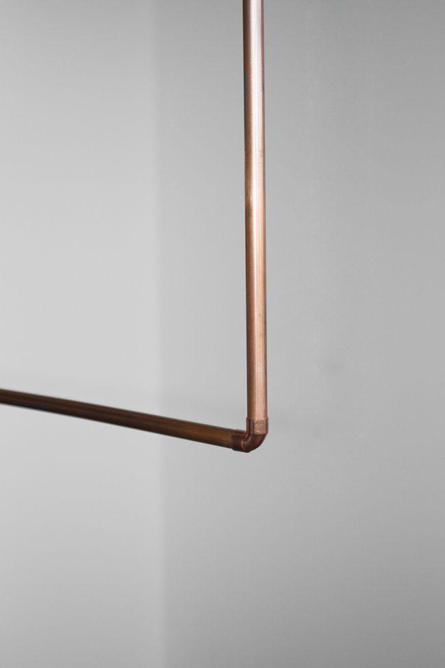 Copper Hanger, get in my house. from Fancy NZ Design Blog