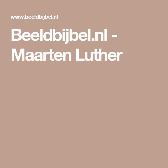 Beeldbijbel.nl - Maarten Luther