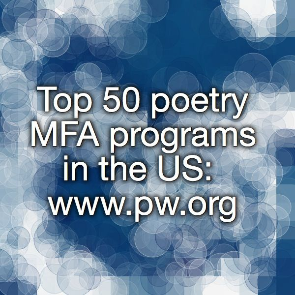 best creative writing mfa programs in california Interested in making writing your profession learn about mount saint mary's university la's weekend-only master of fine arts in creative writing.
