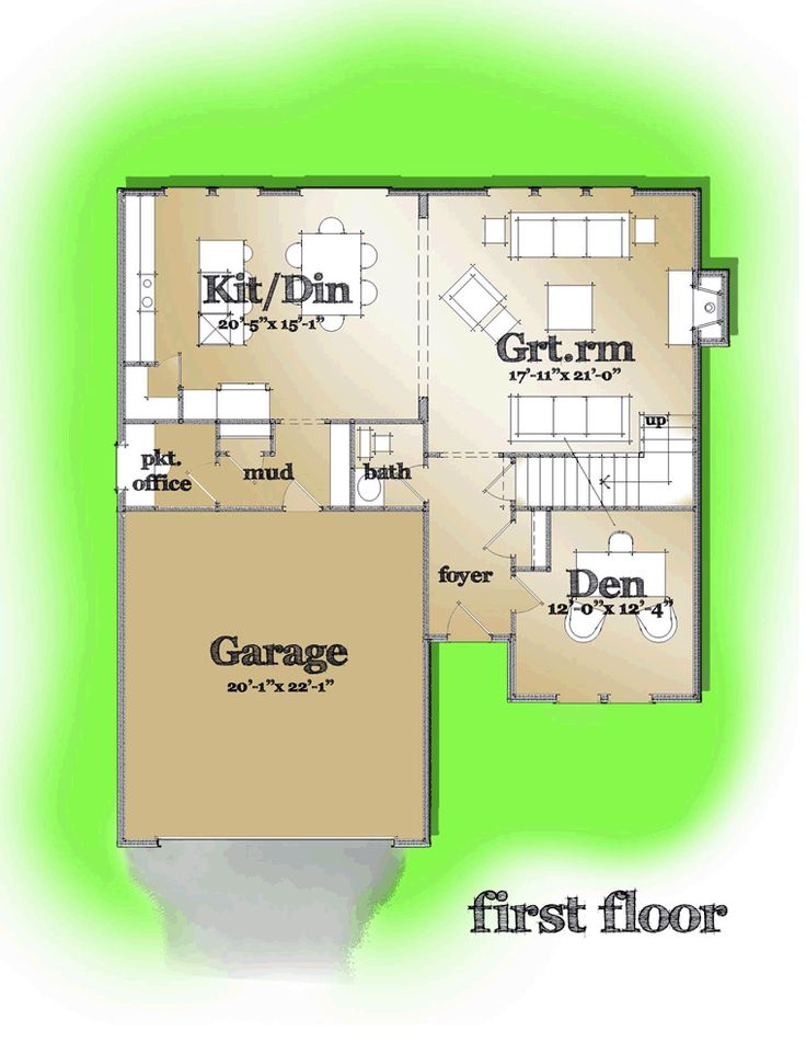 Image Result For Floor Plan First Story Of Country Plan
