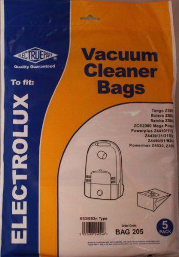 Electruepart Electrolux Vacuum Cleaner Bags E53/E53n Type - 5 Pack No description (Barcode EAN = 5031689249546). http://www.comparestoreprices.co.uk/january-2017-2/electruepart-electrolux-vacuum-cleaner-bags-e53-e53n-type--5-pack.asp