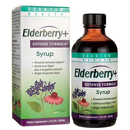 Quantum Elderberry-C Syrup 4 oz