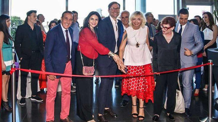 """Taomoda - Taglio del nastro con la mostra """"Contemporary Fashion & Design"""" - http://www.canalesicilia.it/taomoda-taglio-del-nastro-la-mostra-contemporary-fashion-design/ Taomoda, Taormina"""