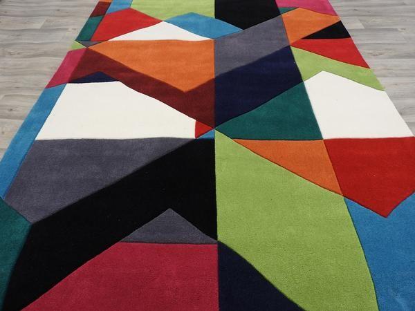 Hand Tufted Acrylic Rug Size: 160 x 230cm