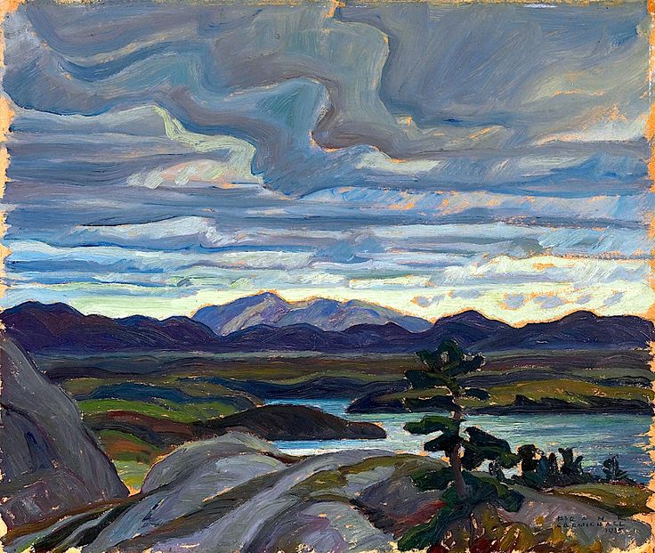 McGregor Bay, 1935 Franklin Carmichael