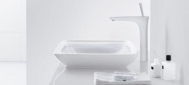 grifo-lavabo-puravida-hansgrohe-5. En venta en la tienda online terraceramica.es  #grifos #grifería #baños #diseño #arquitectura #terraceramica