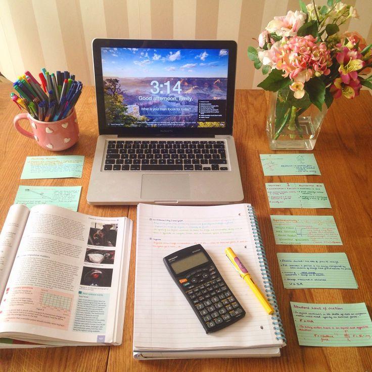 writing desk order neat study