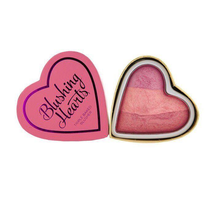 I Heart Makeup Blushing Heart Wypiekany Róż