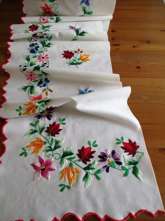 251. Hand embroidered curtain drapes pelmet handmade curtain