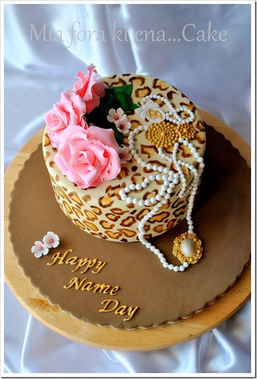 Happy name day Cake www.miaforakienacake.blogspot.gr