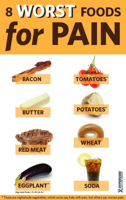 What Are The Worst Foods To Eat For Ac Arthritis