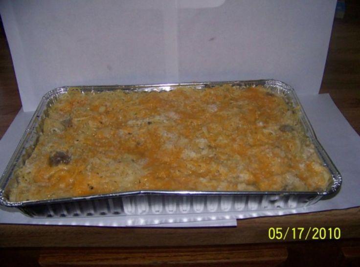 turkey Tetrazzini made it today with my left over turkey  .... yummmy