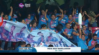 INDIA BANGLADESH 1 RUN