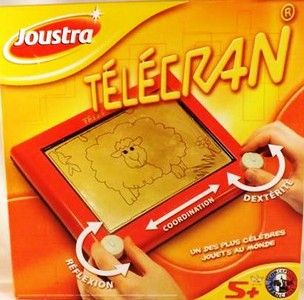 Télécran - Un jouet français ingénieux et créatif qui traverse les années (enfant à partir de 5 ans)
