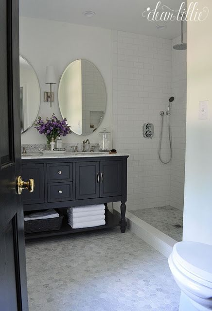 Our Almost Finished Master Bathroom Makeover with Before and Afters