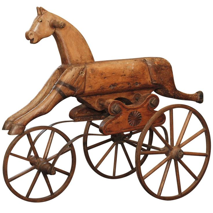 19th Century Wooden Horse