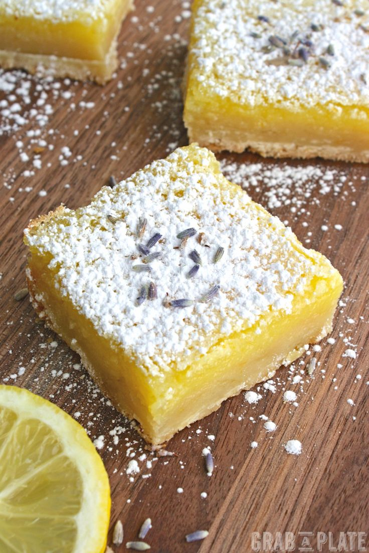 Lemons are fresh and bright and add a bit of sunshine to whatever you make with them. I recommend dessert! Try my recipe for Lemon Squares with Lavender & Limoncello for a flavorful twist on a classic treat.