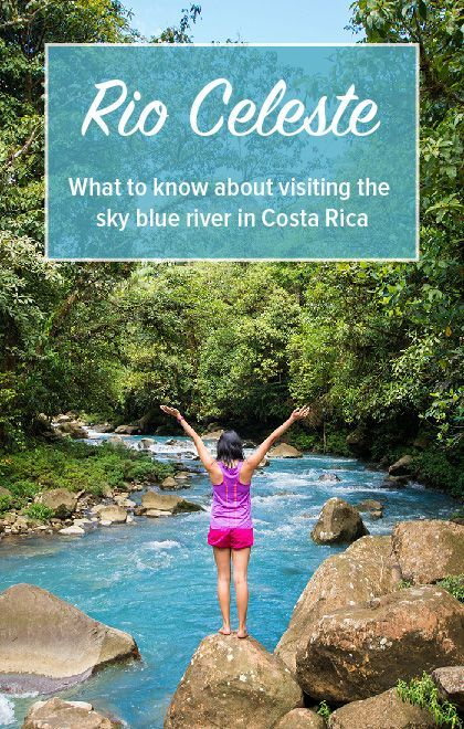 Information about visiting the sky blue river in Costa Rica. Click through to read our guide to visiting Rio Celeste: https://mytanfeet.com/activities/tips-visiting-rio-celeste/    Costa Rica | Costa Rica travel blog | Costa Rica travel tips