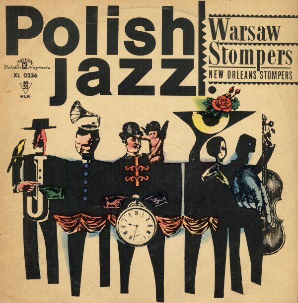 New Orleans Stompers. Polskie Nagrania Muza - XL 0236 / MONO. Polish Jazz - Vol. 1. Released:1965,Poland. Recorded in Warsaw, between years 1959 and 1964.