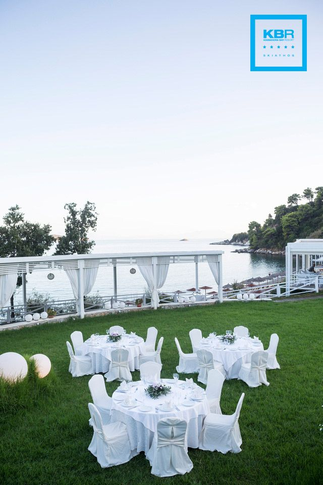 Choose Kassandra Bay Resort for holding your wedding reception or any other event. The perfect settings and the devoted staff will definitely amaze you! #weddings