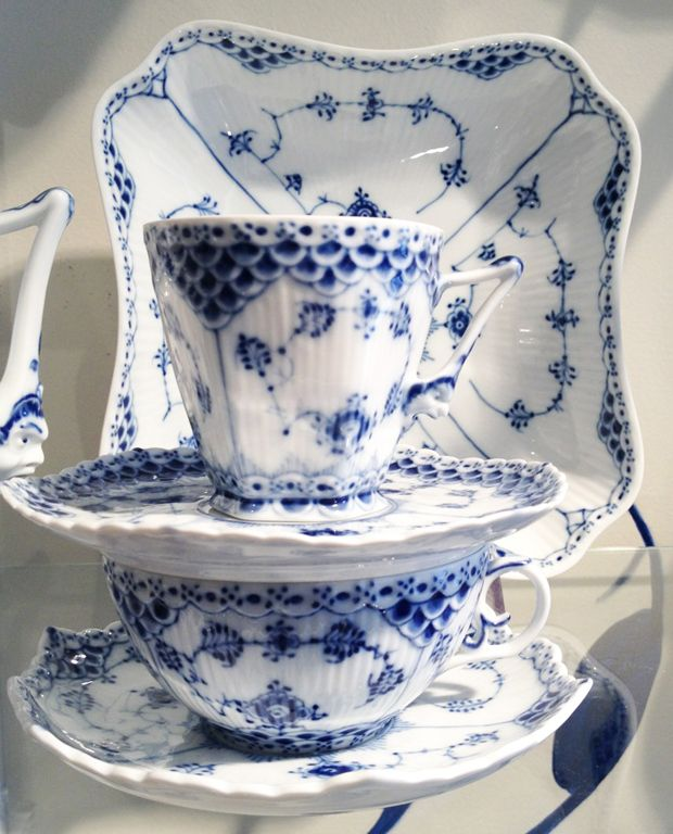 Royal Copenhagen Blue Lace Pattern