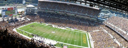 Heinz Field - Pittsburgh Steelers Football. Have to visit this summer =]
