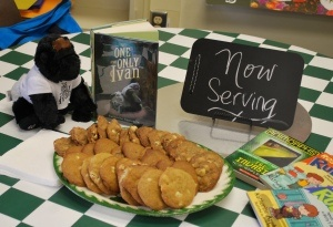 Literacy Cafés - As a way to get students excited about books, create a café where they engage in 4-6 activities related to the books (and they eat food.) Not just snacks, either!