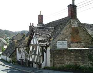 The very ancient Ram Inn, favoured watering hole of my Grandfather, is no longer an Inn, but still worth a look.