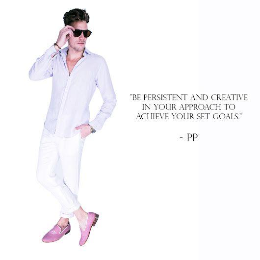 PIETER PETROS || Creativity is the key! #PIETERPETROS #TuesdayTip #inspirationfashion