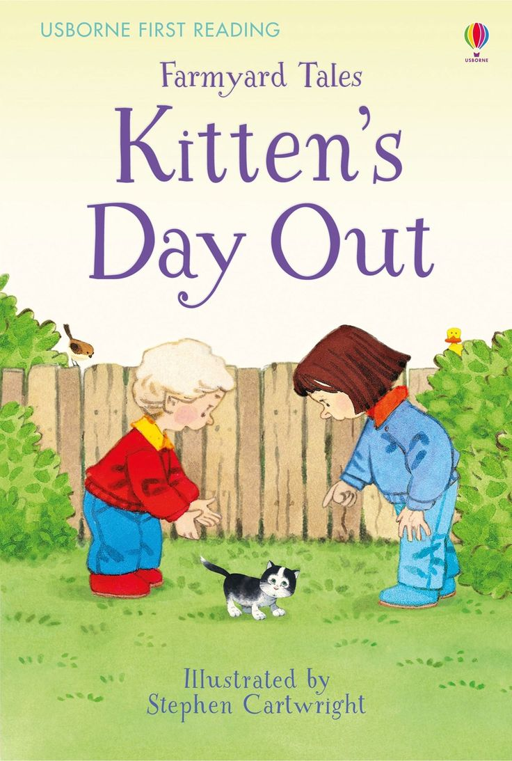 Farmyard Tales Kitten's Day Out  New title for November