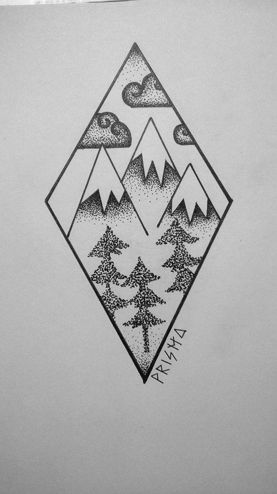 Paisajito. Por Prisma Tattoo. https://www.facebook.com/Julisalass/media_set?set=a.10151927640201082.1073741830.658546081&type=3