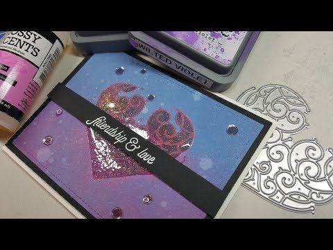 Mary Polanco Designs: Video #4 with Hero Arts January Card Kit