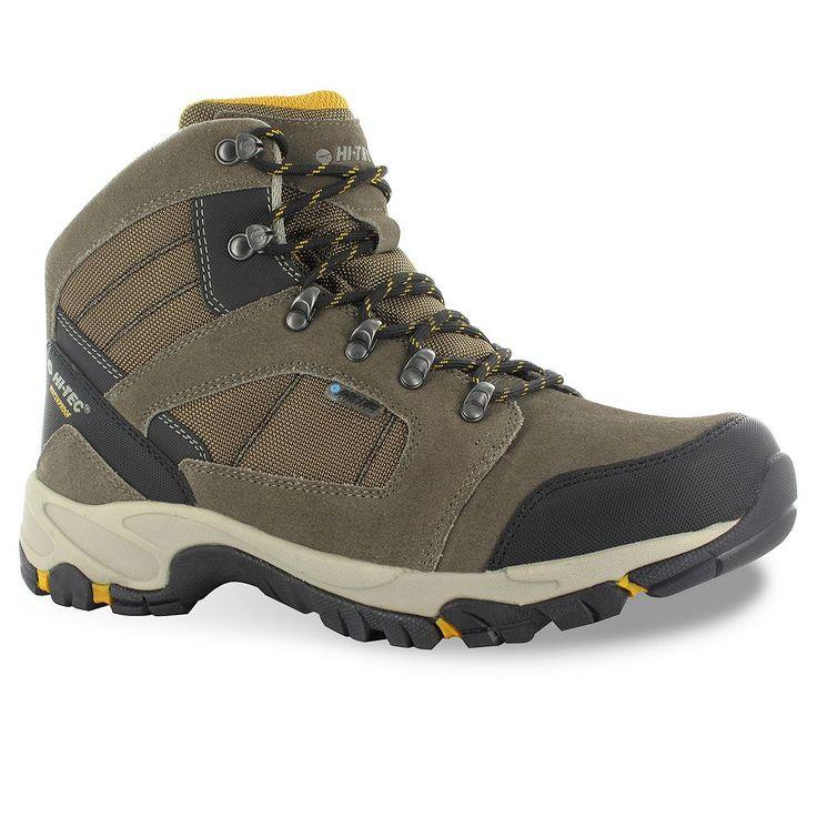 Hi-Tec Borah Peak I Men's Waterproof Hiking Boots, Size: medium (13), Brown