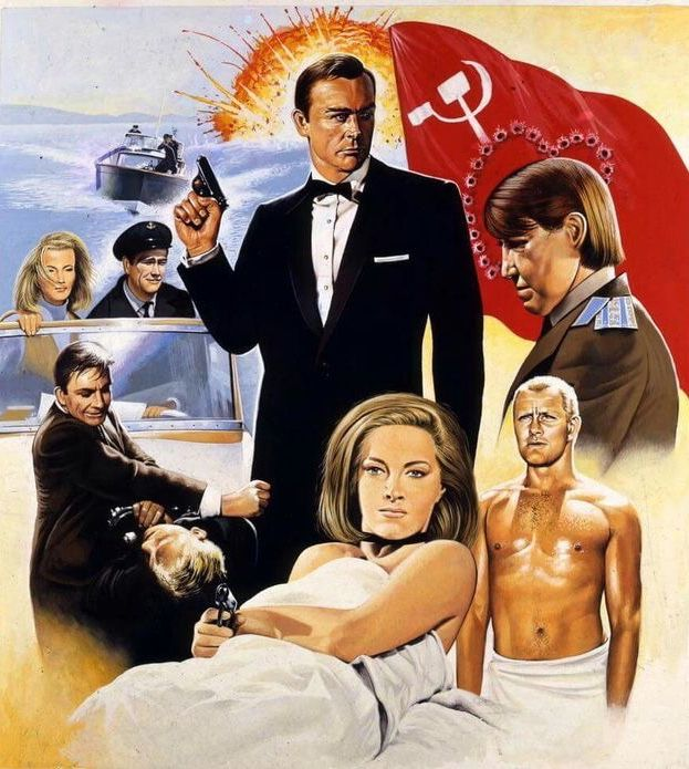 From Russia With Love James Bond Movies James Bond Movie