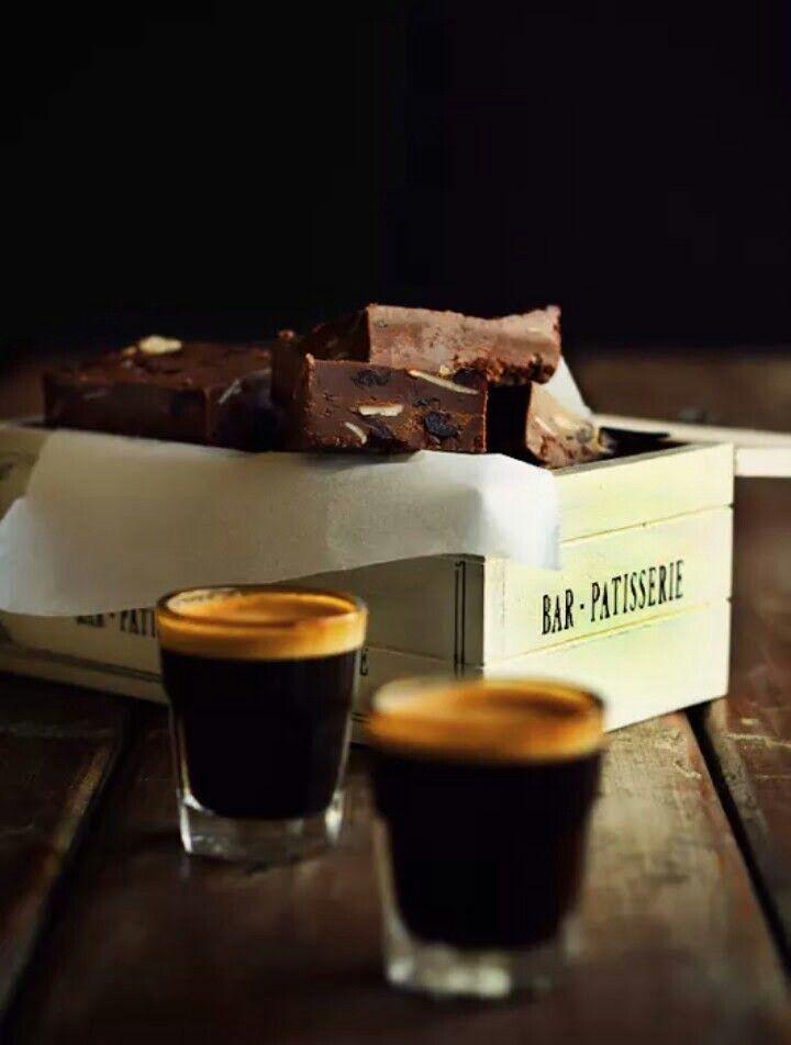 Espresso + fudge
