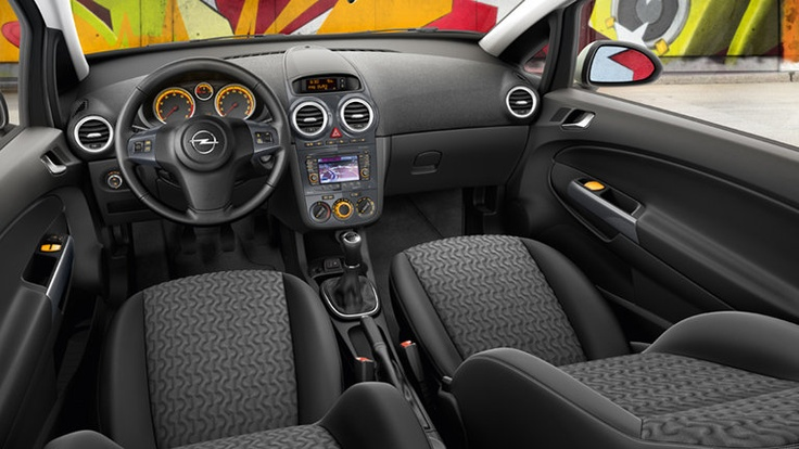 Opel Corsa 3 puertas - Interior