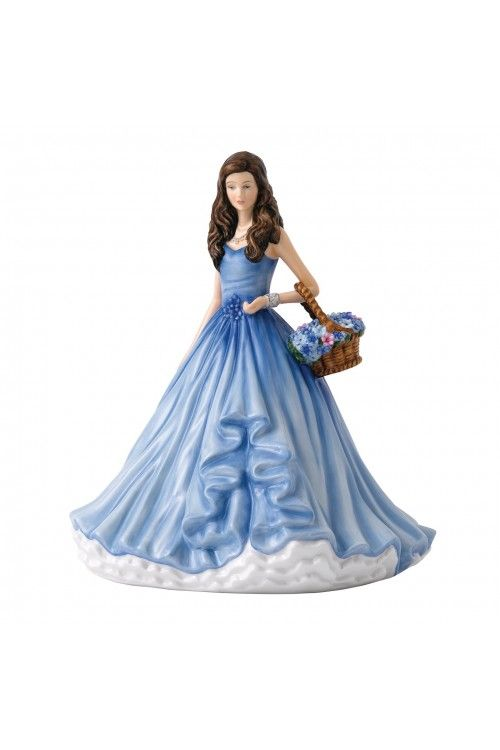Royal Doulton Language of Flowers True Love, Forget-Me-Not at Waterford Wedgwood Royal Doulton, Tanger Outlets, San Marcos, TX or call 1-800-203-4540 or 512-396-4025. We ship.