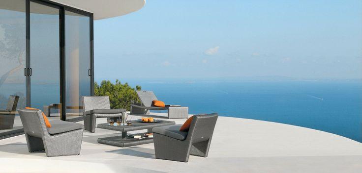 Modern outdoor furniture by Manutti. #modern #furniture #design