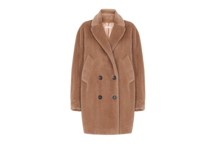Sogno, wool and alpaca overcoat