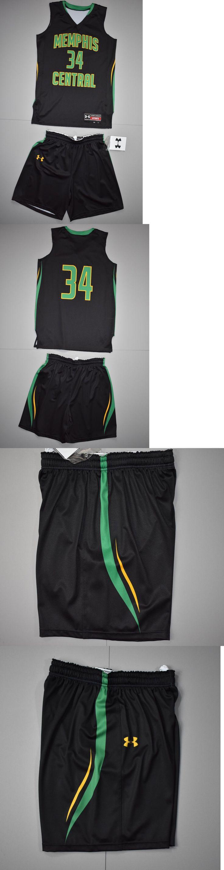 Women 158966: Under Armour Women'S Basketball Uniform Jersey Shorts Medium Memphis Central -> BUY IT NOW ONLY: $38.24 on eBay!