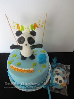 Doces Opções: O Panda no 2º aniversário do Gustavo