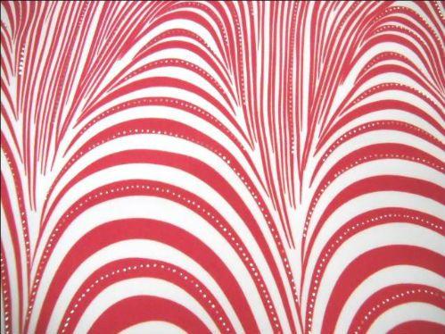 lycra® qualité maillot de bain rouge lurex métal en 1.30m de large